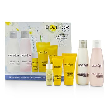 DecleorHydration Starter Kit: Cleansing Milk 75ml, Tonifying Lotion 75ml, HydraFloral Crm 15ml, Neroli Serum 5ml, Neroil Balm 5ml 5pcs