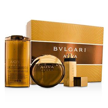 Bvlgari Aqva Amara �����: ��������� ���� ����� 100��/3.4��� + ������� � ���� ��� ���� 200��/6.8��� + ��������� ���� ����� 15��/0.5���