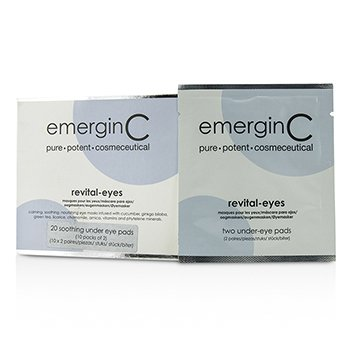 EmerginC Revital-Eyes Mask – Salon Size 10x2pads