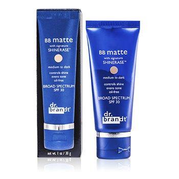 Dr. BrandtShinerase BB Matte Broad Spectrum SPF 30 - Medium to Dark (Oily/ Combination Skin) 30g/1oz