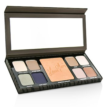 Laura Mercier Artist's Palette For Eyes & Cheeks (8x Eye Colour, 1x Highlighter)
