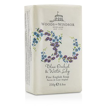 Woods Of Windsor Blue Orchid & Water Lily Jab�n Fino Ingl�s  250ml/8.8oz
