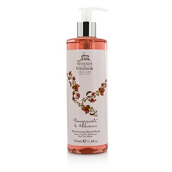 Woods Of Windsor Pomegranate & Hibiscus Moisturising Hand Wash 350ml/11.8oz
