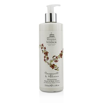 Woods Of WindsorPomegranate & Hibiscus Moisturising Hand & Body Lotion 350ml/11.8oz