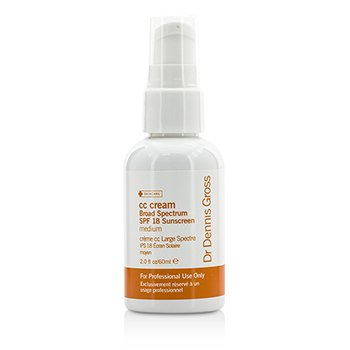 Dr Dennis Gross Daily Essentials CC Cream SPF 18 – Medium (Salon Product) 60ml/2oz