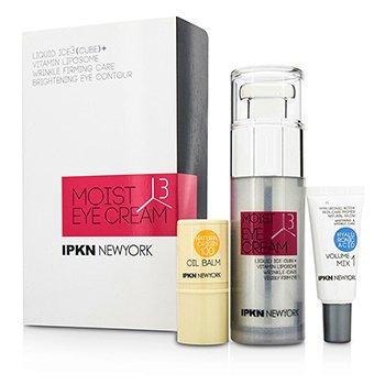 IPKN New York 모이스트 3 큐브 키트 : 퍼밍 아이크림 + 볼륨 믹스 1+오일 밤  3pcs