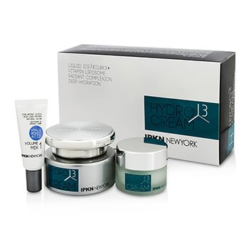 IPKN纽约 IPKN New York Hydro 3 Cube Cream kit: Hydro 3 Cube Cream 50g + Hydro 3 Cube Cream 20g + Volume Mix1 5g 3pcs