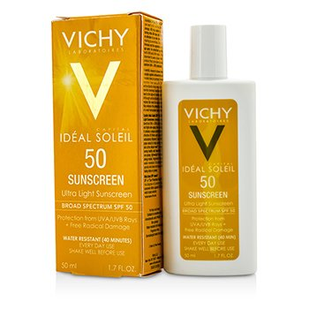 VichyCapital Soleil Ultra Light Sunscreen For Face & Body SPF 50 50ml/1.7oz