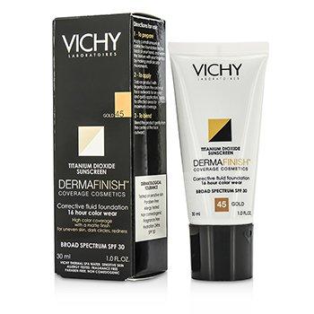 Vichy Dermafinish Corrective Fluid Foundation SPF30 – #Gold 45 30ml/1oz