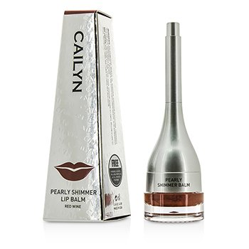 Image of Cailyn Pearly Shimmer Lip Balm - #06 Red Wine 4g/0.14oz
