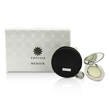 Amouage Memoir Solid Perfume with 2 Refills 3×1.35g