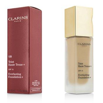 Clarins Everlasting Foundation+ SPF15 – # 109 Wheat 30ml/1.2oz