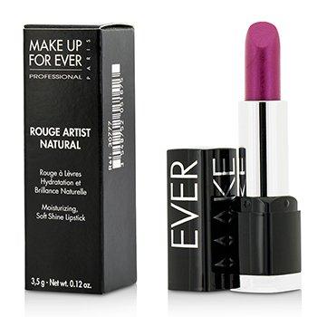 Make Up For Ever Rouge Artist Natural Soft Shine Lipstick - #N27 (Iridescent Blu make up