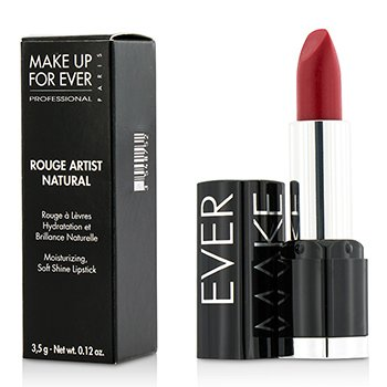 Make Up For Ever Rouge Artist Natural Soft Shine Lipstick - #N45 (Red) 3.5g/0.12 make up