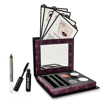 Paula Dorf Smokey Eye Collection (3x Eye Shadow, 1x Eye Liner, 1x Lip & Cheek Stain, 1x Mascara, 1x Enhancer Pencil, 1x Applicator)  39g/1.37oz