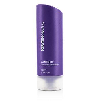 Blondeshell Debrass & Brighten Shampoo Keratin Complex Blondeshell Debrass & Brighten Shampoo 400ml/13.5oz