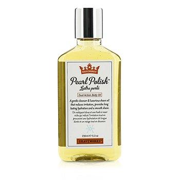 Shaveworks Pearl Polish Масло для Тела Двойного Действия 156ml/5.3oz