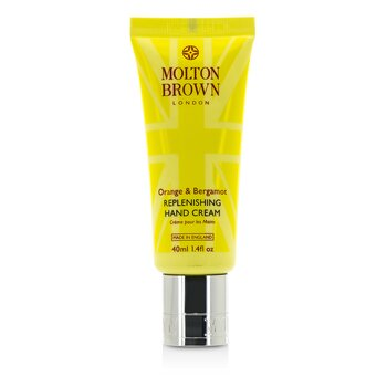 Molton BrownOrange & Bergamot Replenishing Hand Cream 40ml/1.4oz