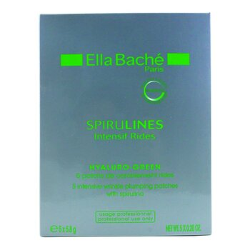 Ella Bache Spirulines Intensif Rides Hyaluro-Green Intensive Wrinkle Plumping Patches (Salon Product) 5×5.8g/0.2oz