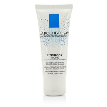 La Roche Posay Hydreane Thermal Spring Water Cream Sensitive Skin Moisturizer – Rich 40ml/1.35oz