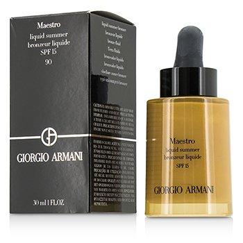 Giorgio Armani  Maestro Liquid Summer Bronzer SPF 15 – #90 Sun Glow 30ml/1oz
