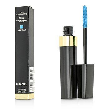 ChanelCils Scintillants Sparkling Mascara Top Coat - Jazzy Blue 6ml/0.21oz