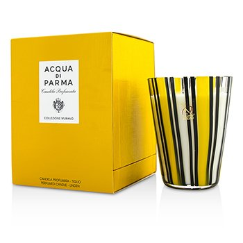 Image of Acqua Di Parma Murano Glass Perfumed Candle - Tiglio (Linen) 200g/7.05oz