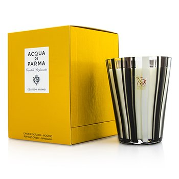 Image of Acqua Di Parma Murano Glass Perfumed Candle - Mogano (Mahogany) 200g/7.05oz