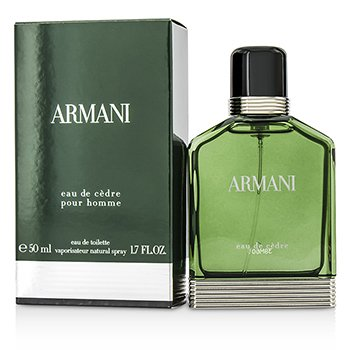 Giorgio Armani Armani Eau De Cedre Eau De Toilette Spray  50ml/1.7oz