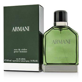 Armani Eau De Cedre Туалетная Вода Спрей 100ml/3.4oz
