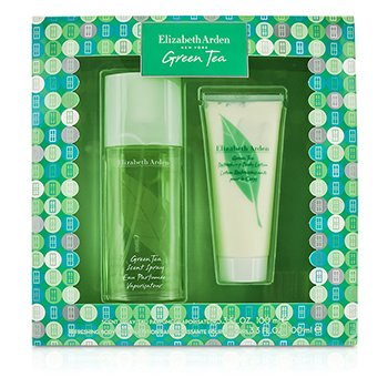 Elizabeth ArdenGreen Tea Coffret: Eau Parfumee Spray 100ml/3.3oz + Body Lotion 100ml/3.3oz 2pcs