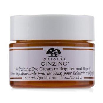 Origins GinZing Refreshing Eye Cream To Brighten and Depuff  15ml/0.5oz