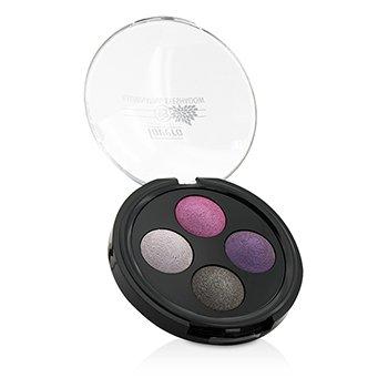 Lavera Illuminating Eyeshadow Quattro – # 02 Lavender Couture
