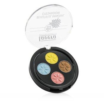 Купить Beautiful Mineral Eyeshadow Quattro - # 05 Lunatic Summer Skies 4x0.8g/0.026oz, Lavera