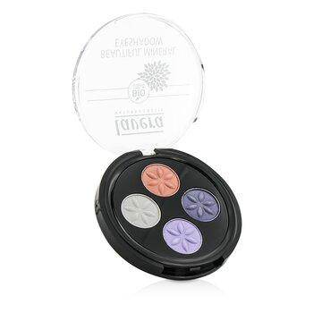 Купить Beautiful Mineral Eyeshadow Quattro - # 06 Sophisticated Tones 4x0.8g/0.026oz, Lavera