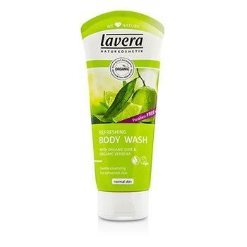Lavera Organic Lime & Verbena Refreshing Body Wash  200ml/6.6oz