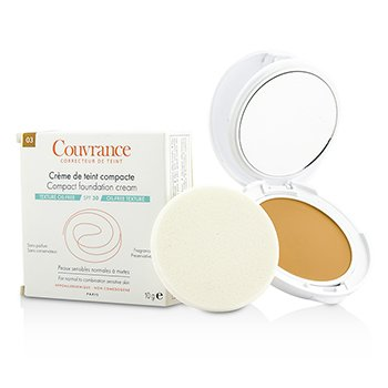 Avene Couvrance Compact Foundation Cream SPF 30 - # 03 Beige (Oil Free Texture, For Normal To Combination Sensative Skin) 10g/0.35oz