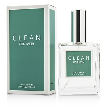 Clean Clean Men Eau De Toilette Spray  60ml/2.14oz