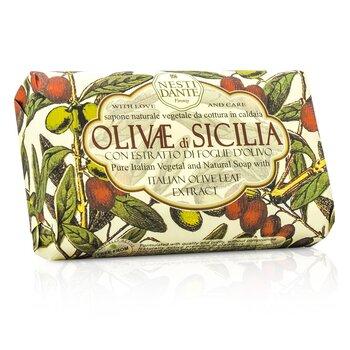 Натуральное Мыло с Экстрактом Итальянской Оливы - Olivae Di Sicilia 150g/3.5oz