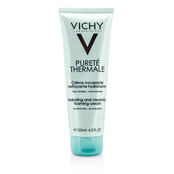 VichyPurete Thermale Hydrating And Cleansing Foaming Cream - For Sensitive Skin 125ml/4.2oz