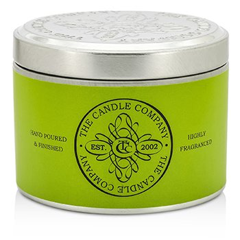 The Candle Company Tin Can Highly Fragranced Candle – Lemongrass (Green Can) (1.5×3) inch