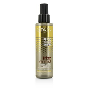 Redken Frizz Dismiss FPF30 Instant Deflate Leave-In Smoothing Oil Serum (For Med hair care