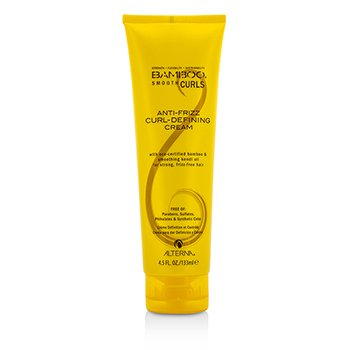 Alterna Bamboo Smooth Curls Anti-Frizz Curl-Defining Cream (For Strong, Frizz-Free Hair)  133ml/4.5oz