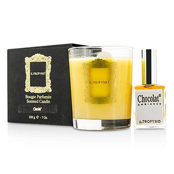 Il Profvmo Scented Candle - Chocolat (with Room Frangrance Spray 15ml/0.5oz) 200g/7oz