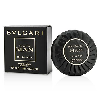BvlgariIn Black Shaving Soap 100g/3.5oz