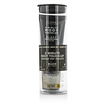 AlternaStylist 2 Minute Root Touch-Up Temporary Root Concealer - # Black 30ml/1oz