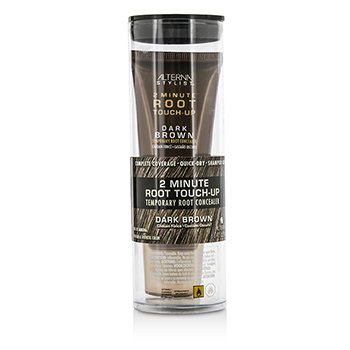 Alterna Stylist 2 Minute Root Touch-Up Temporary Root Concealer - # Dark Brown  30ml/1oz