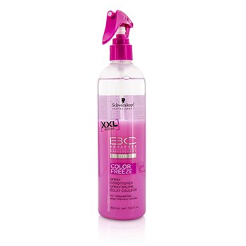 SchwarzkopfBC Color Freeze pH 4.5 Spray Conditioner (For Coloured Hair) 400ml/13.6oz