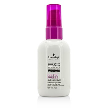 SchwarzkopfBC Color Freeze Gloss Serum (For Coloured Hair) 100ml/3.4oz