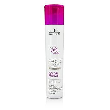 SchwarzkopfBC Color Freeze pH 4.5 Silver Shampoo (For Grey & Lightened Hair) 250ml/8.4oz